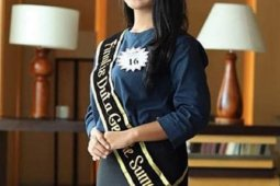 Sarah Purba juara I Duta GenRe Putri Sumut 2019