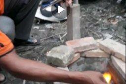 Video amatir Warga Labuhanbatu temukan potensi gas alam