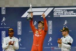Juara GP Belgia, Leclerc raih  kemenangan perdana di F1
