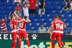 Granada raih tiga poin perdana sejak promosi,  pecundangi Espanyol 3-0