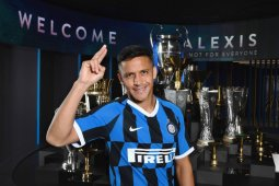 Inter: Sanchez cedera tendon, mungkin perlu operasi