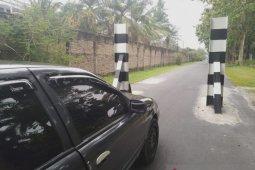 Dishub Asahan bangun 50 portal untuk menjaga kondisi jalan