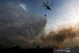 Helikopter pemadam kebakaran hutan di Portugal jatuh