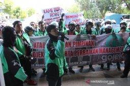 Driver ojek online Aceh demo tolak kebijak insentif baru Gojek