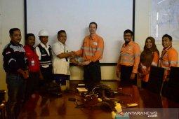 Peserta SMN asal Sumut berkunjung ke SMA 3 Palu