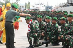 Yonif 126/KC selesaikan bertugas menjaga NKRI
