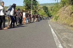 Puluhan ribu warga Ternate ikut Kololi Kie