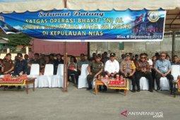 Dukung Sail Nias, Tim Satgas Operasi Bhakti TNI AL tiba di Gunungsitoli