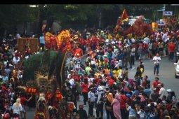 Kirab budaya dan kesenian di Tangerang