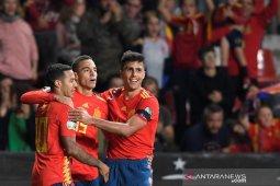 Spanyol sempurna dan Rumania naik peringkat tiga grup F kualifikasi Piala Eropa 2020