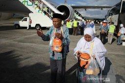 Jamaah haji Aceh tersisa tiga kloter di Arab Saudi