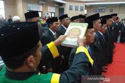 25 anggota DPRK Abdya diambil sumpah, Nurdianto ketua sementara