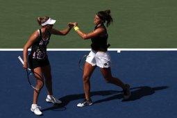 Mertens/Sabalenka juarai nomor ganda putri US Open pertamanya