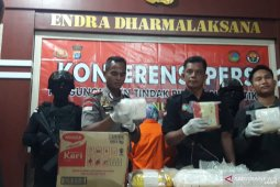 Nunukan police confiscate 20 kg meth smuggled from Malaysia