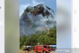 Beredar video kebakaran Bukit Kandis Bengkulu Tengah