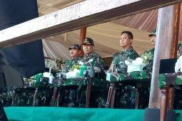 Jokowi digantikan Wiranto hadiri puncak latihan gabungan TNI 2019