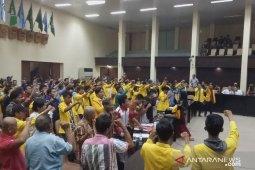 Hingga malam hari, ratusan mahasiswa Unsri duduki kantor Gubernur Sumsel