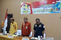 ASN Kesbang Gorontalo hening cipta untuk BJ Habibie