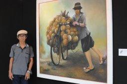 Festival seni multatuli diramaikan Lukisan perjuangan petani kelapa
