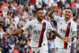 Gol salto Neymar bawa PSG menang 1-0 atas Strasbourg