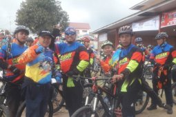 2.300 peserta ikuti gowes dari Siosar menuju Tongging
