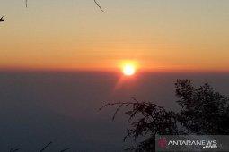 Mengintip Sang Surya muncul dari Bukit Sikunir (Video)