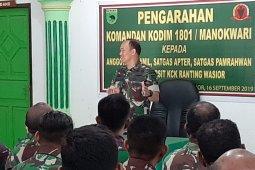 Dandim imbau TNI jadi teladan dalam merawat keberagaman di Wondama