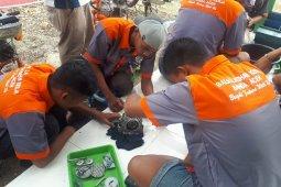 Sebanyak 32 warga binaan LP Lhoknga dilatih perbaiki sepeda motor