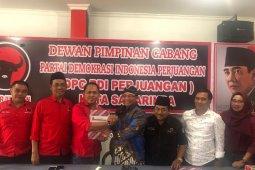 Saefudin Zuhri daftar Balon  Wali Kota melalui PDIP