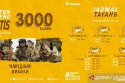 PT Timah bagikan 3.000 tiket nobar film Martabak Bangka