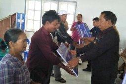 83 KK di Kecamatan Sitio-tio Samosir peroleh BSPS