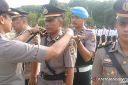 Empat Perwira Polres Bangka Selatan dirotasi