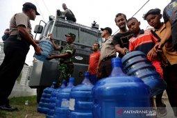 Polresta Banda Aceh distribusi air bersih