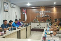 Polres Bangka Selatan targetkan 7.000 peserta ikuti senam Bedincak