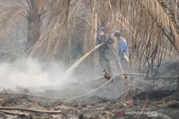 Kebakaran lahan di Sengah Temila-Landak berhasil dipadamkan