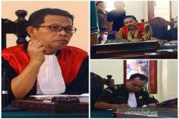 Ini putusan PT Medan atas banding mantan bupati Tapteng yang divonis 5 tahun penjara