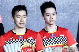 Marcus/Kevin rebut tiket final China Open 2019