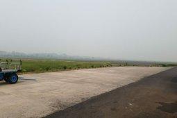 Bandara Dr Ferdinand Lumbantobing Pinangsori ditutup akibat kabut asap