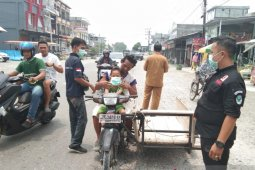 Dinkes bagikan 11.000 masker cegah dampak kabut asap di Nagan