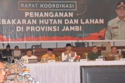 Gubernur: kedatangan Kepala BNPB dan Pangdam perkuat penanganan karhutla di Jambi