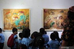 Pameran lukisan Ringgit Wonosalam