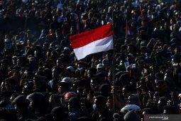 Aksi mahasiswa Jawa Timur