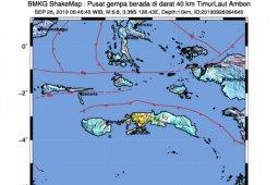 Gempa dangkal magnitudo 6.8 guncang Ambon sebabkan  kerusakan