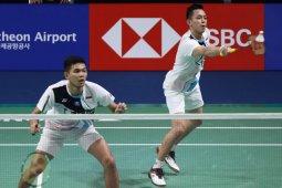 Ke semifinal Korea Open, tantangan berat Fajar/Rian dan Rinov/Pitha