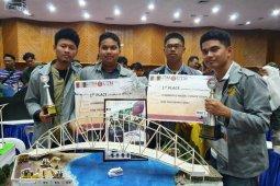 Mahasiswa UI juara umum kompetisi perancangan jembatan di Malaysia