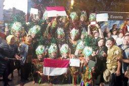 Duta kesenian Boyolali kumandangkan Indonesia Raya di Spanyol