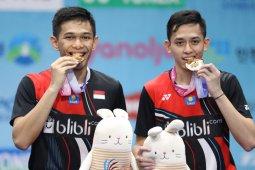 Juara di Korea Open, Fajar/Rian tak ingin cepat puas