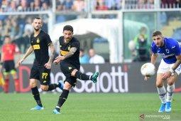 Inter rebut lagi puncak klasemen setelah taklukkan Sampdoria
