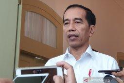 Presiden Jokowi imbau warga Papua menahan diri dan tidak mudah terhasut