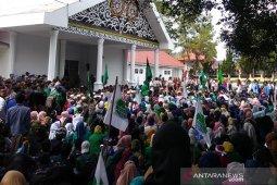 Mahasiswa Gayo demo tolak RUU di DPRK Aceh Tengah